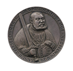 Hans Reinhart the Elder's medal of Johann Friedrich I.