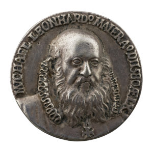Look at the deep relief on this cast medal of Michael Leonhard Maier attributed to Balduin Drentwett.